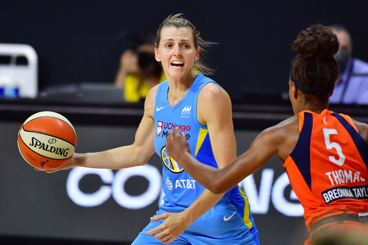 Guard Allie Quigley said she was slightly hesitant about playing overseas during the offseason.