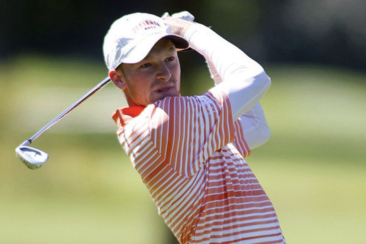 Brian Campbell earned his first win of the season at Wolf Run Intercollegiate on Sunday.