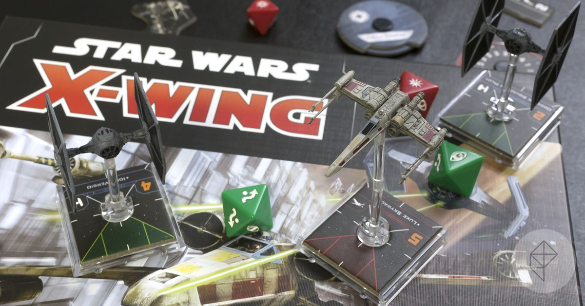 X-Wing Second Edition is the best version of the classic miniatures