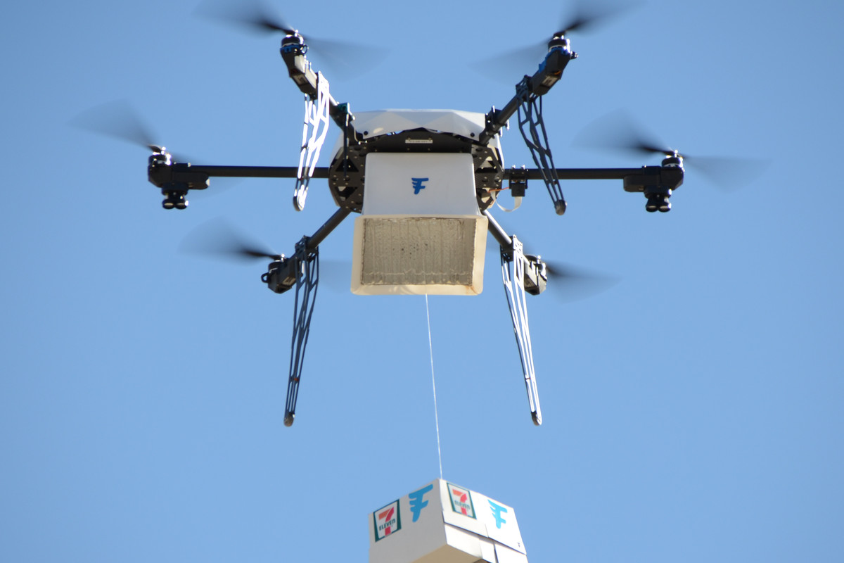 7 Eleven The Worlds Largest Convenience Store Chain Shared New Numbers From Its Drone Delivery Experiment Today Seventy Seven Customers In Reno Nev
