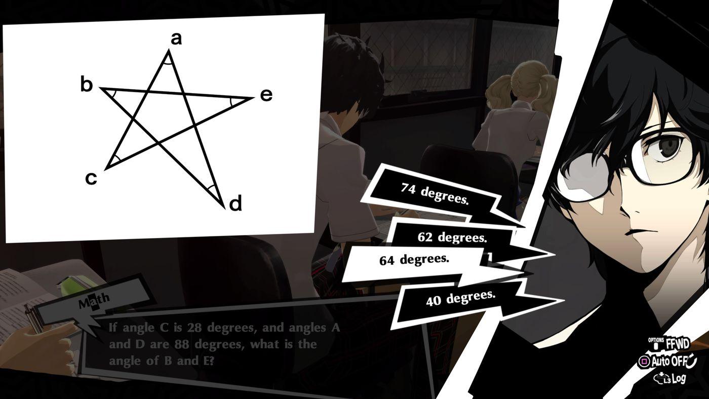 Persona 5 Royal classroom answers guide - Polygon