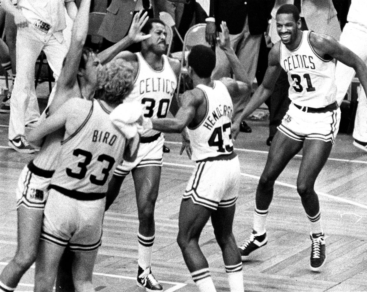 1981 NBA Playoffs: Philadelphia 76ers Vs Boston Celtics At Boston Garden