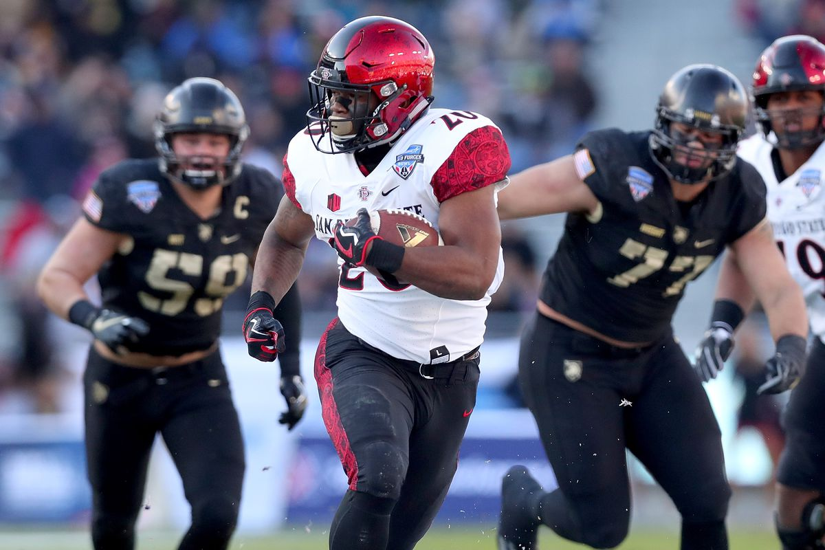 purchase cheap 7f03f 25038 Rashaad Penny's Speed, Size, And Strength Would Fit Well In ...