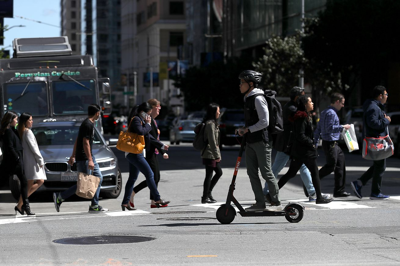 ford buys e scooter company spin for 40 million