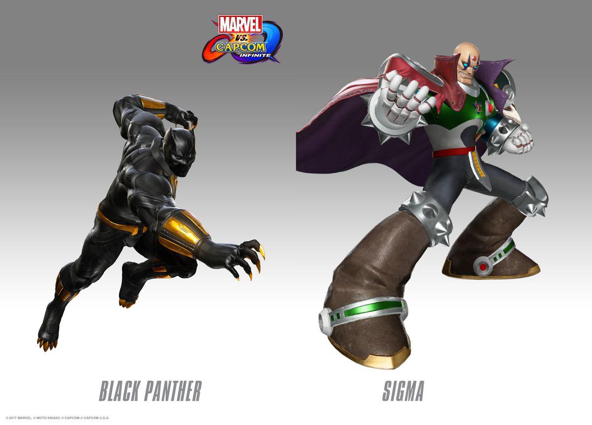 black panther sigma marvel vs. capcom infinite