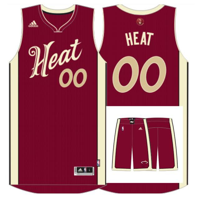 Christmas in Miami: New jerseys revealed - Hot Hot Hoops