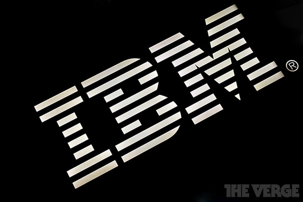 IBM logo stock