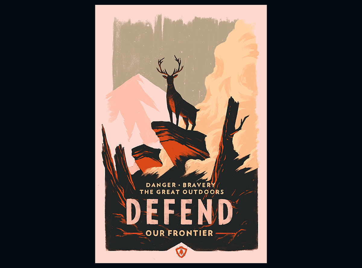 Olly Moss Firewatch Posters Are Super Pretty Limited