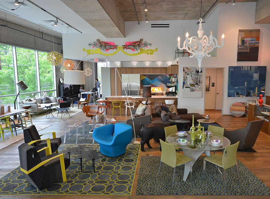 Austin's Best Furniture And Home Design Shops, Mapped