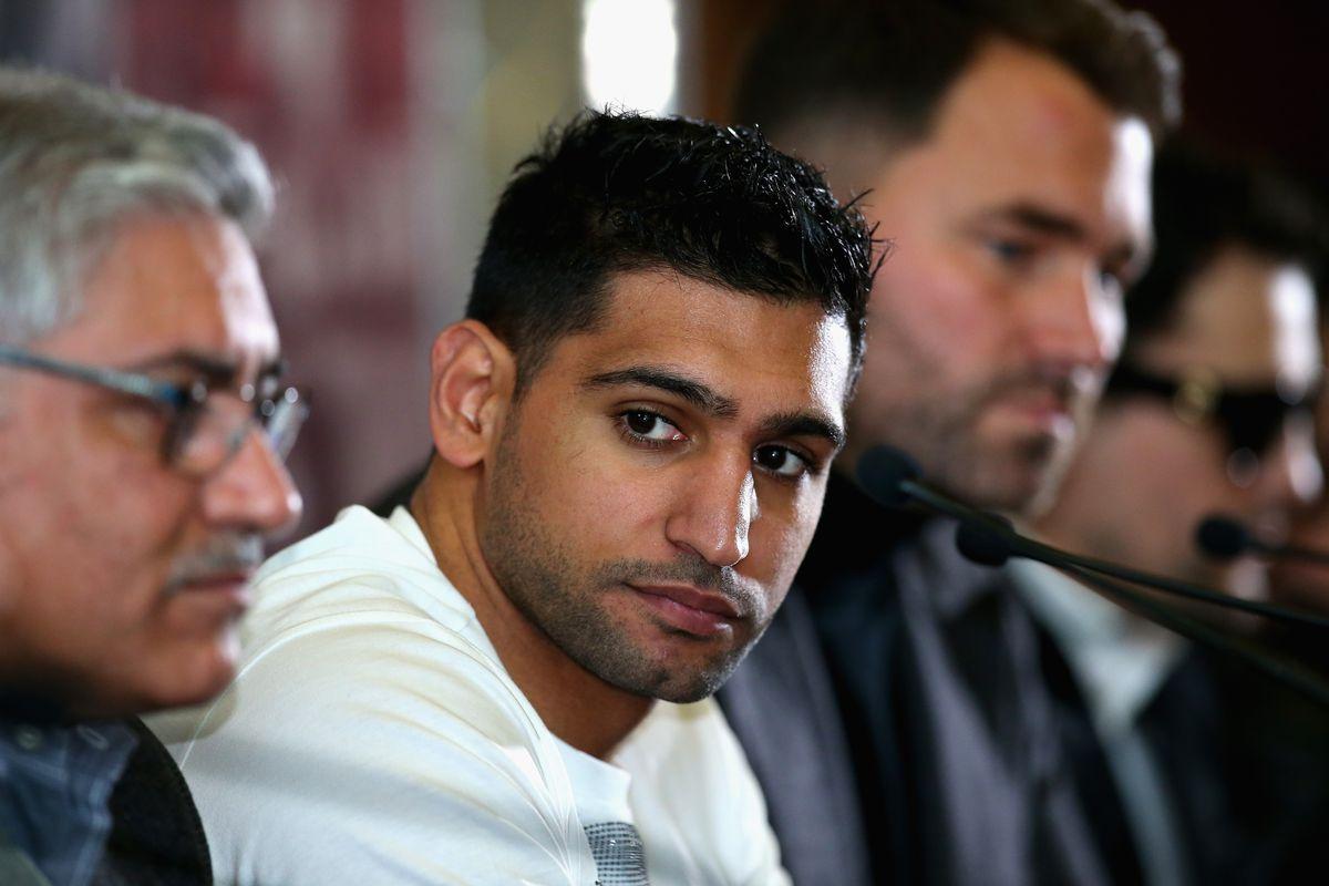 Amir Khan press conference