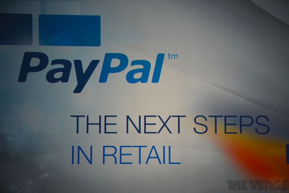 PayPals Instore Payment Platform Spreads To Retail - Vehicle invoice format online stores that accept electronic checks