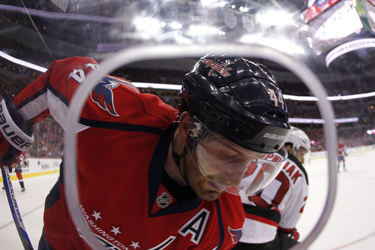 Brooks Orpik is out for three games starting tonight