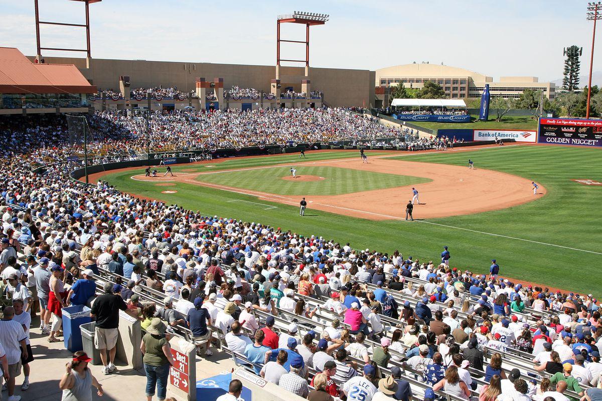 Cashman Field in Las Vegas, home of the 51s
