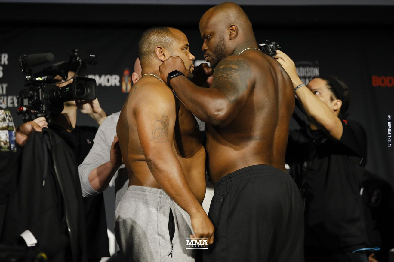 Daniel Cormier will clash with Derrick Lewis in the UFC 230 main event Saturday night.