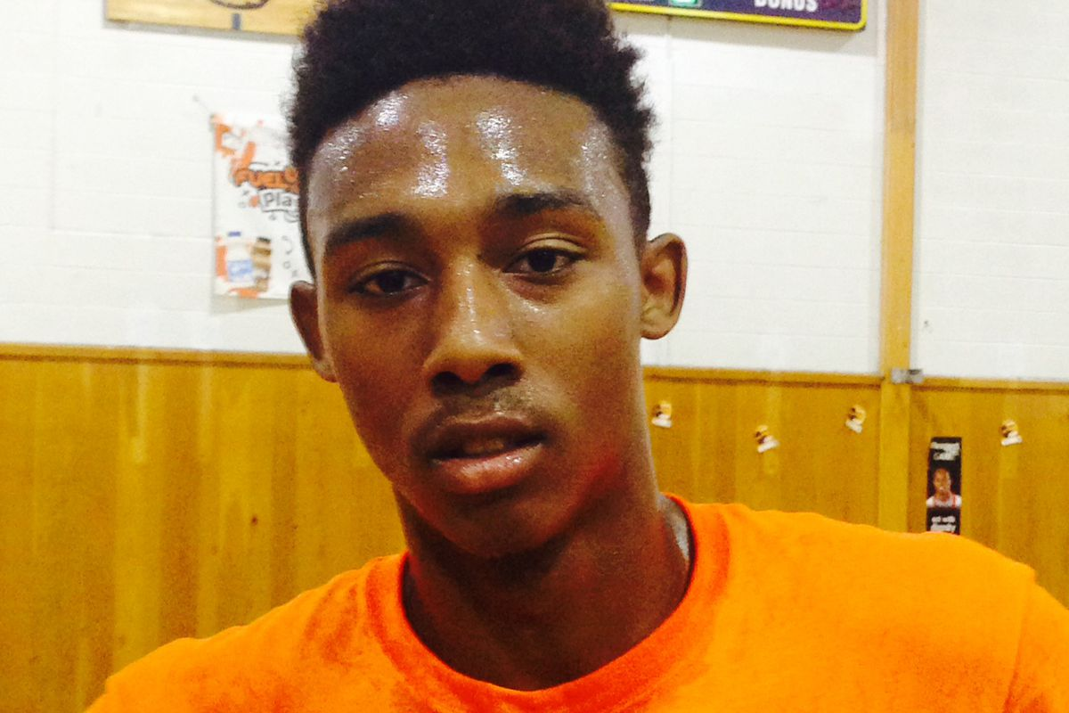 Garfield Heights shooting guard Frankie Hughes did man-sized things on Saturday at the 3rdCoastHoops Exposure Showcase