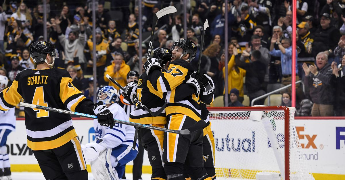 Toronto/Pittsburgh Recap: Pens explode past Leafs, take over first place in Metro