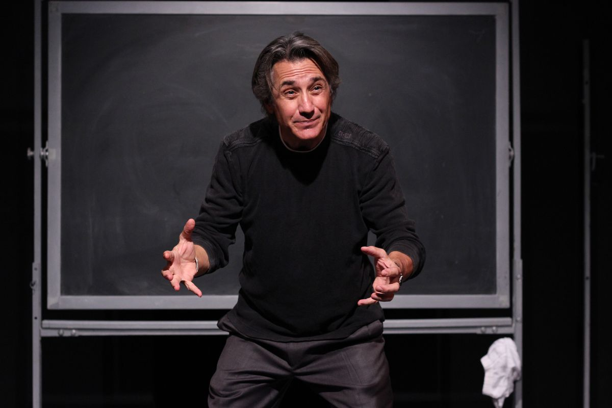 """Robert Dubac's """"Book of Moron"""" plays the Broadway Playhouse Feb. 25-March 1."""