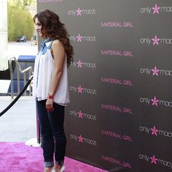Vanessa Hudgens was the first celeb to hit the pink carpet wearing a Material Girl top.