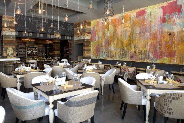 Dining room at Cucina Urbana