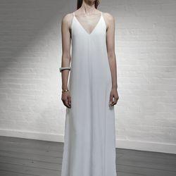 V dress, $595
