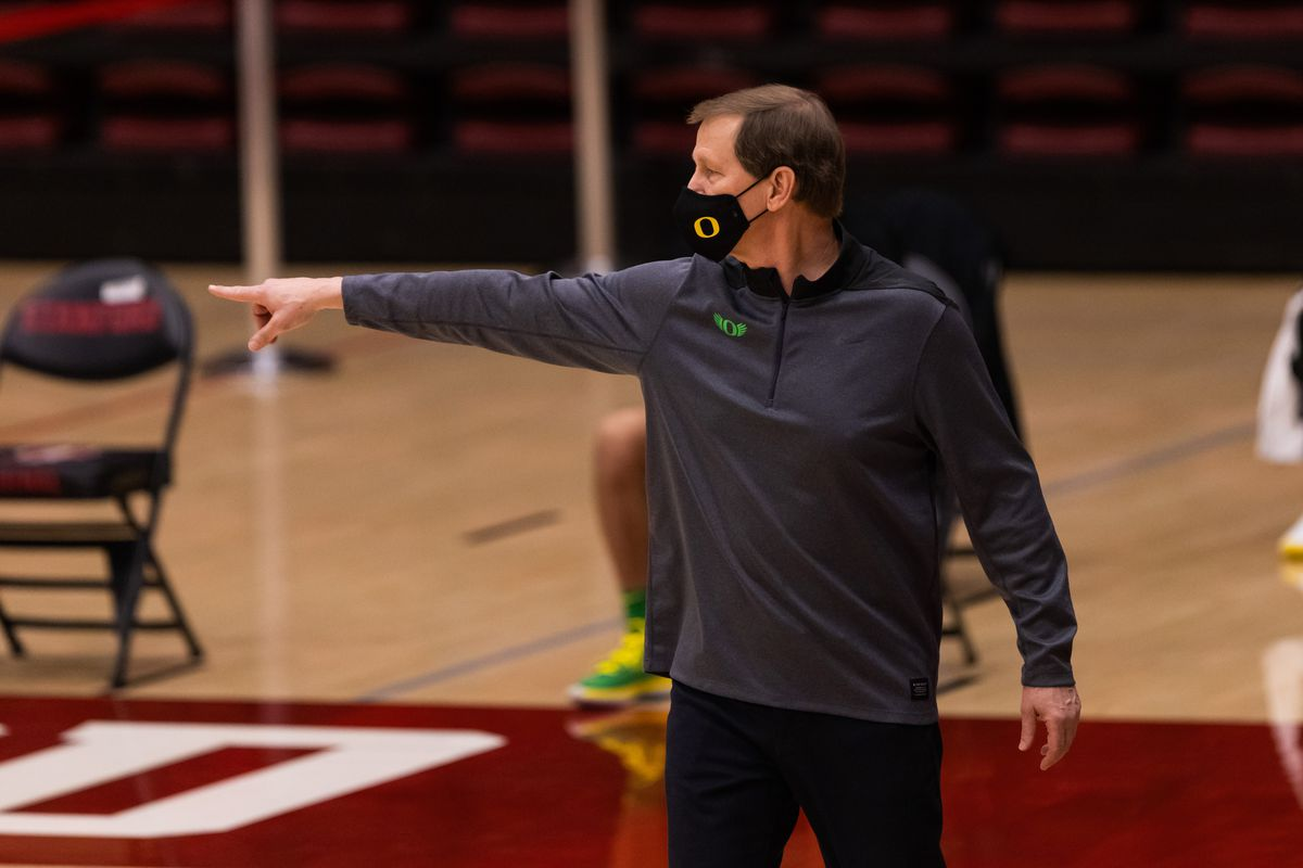 COLLEGE BASKETBALL: FEB 25 Oregon at Stanford