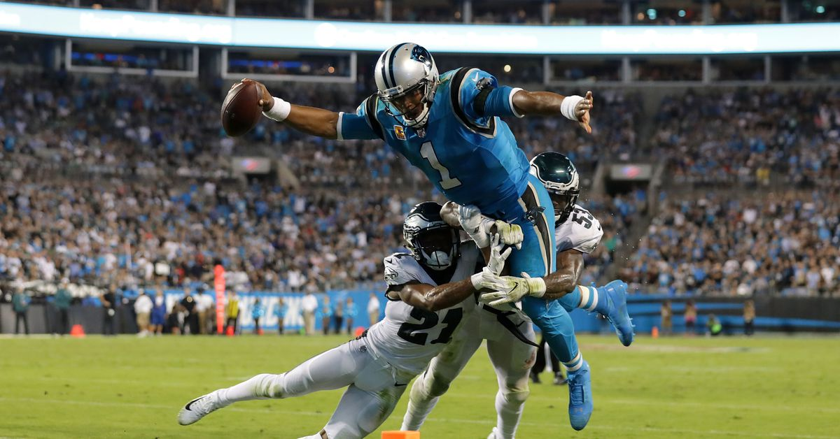 Panthers at Eagles: How to follow the action