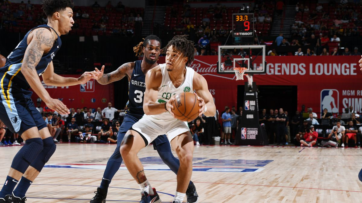 2019 Las Vegas Summer League - Memphis Grizzlies v Boston Celtics