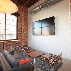 Living room-like space at Gather