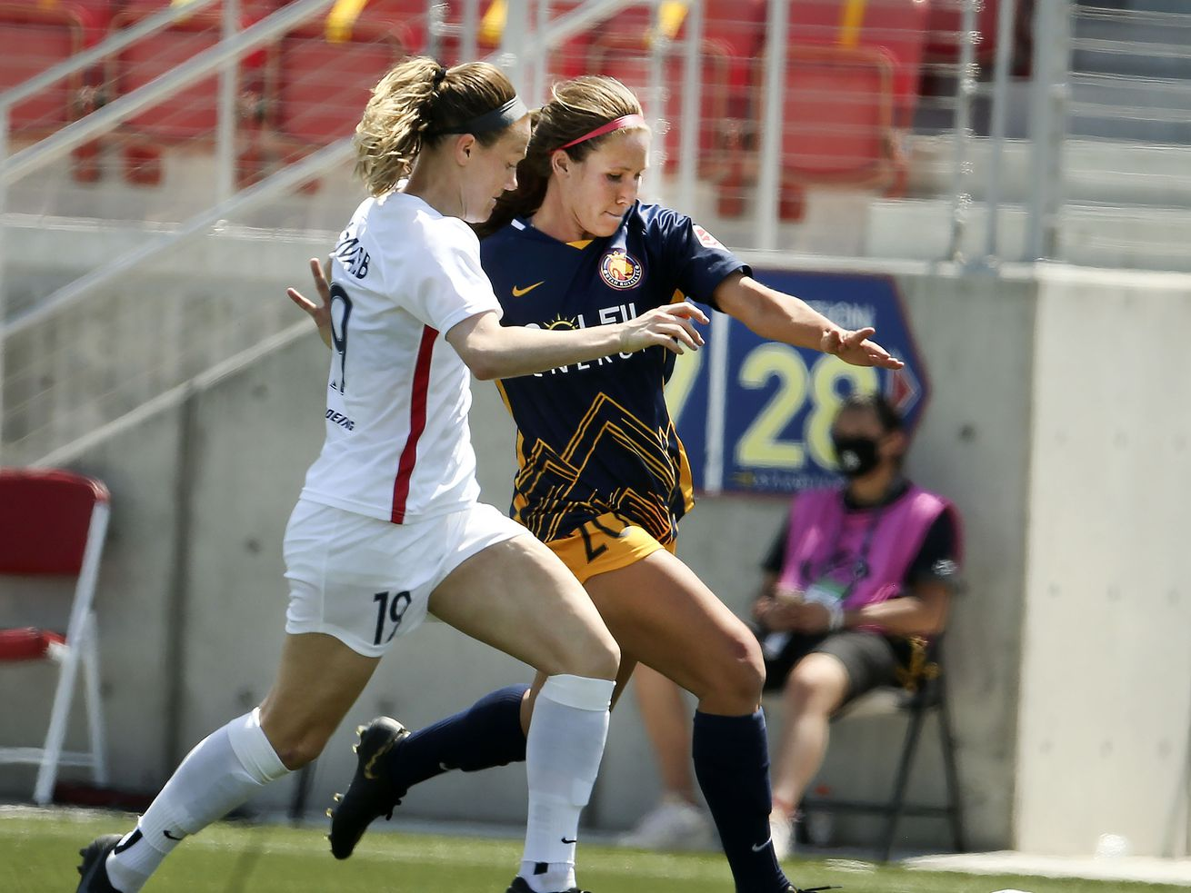 How Utah Royals FC is trying to gain a sense of normalcy under interim head coach Amy LePeilbet