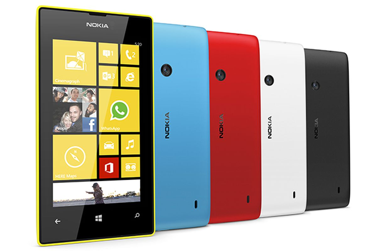 Lumia 520: Nokia hits the low end with its cheapest Windows Phone ...