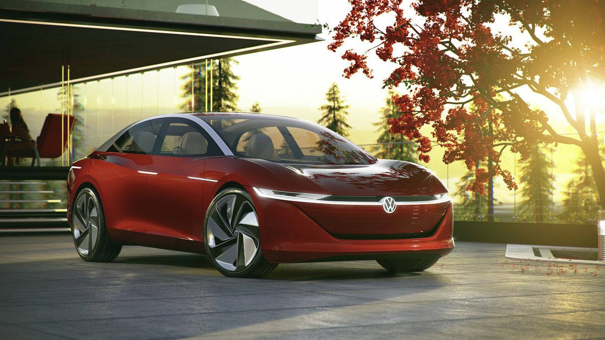 Vw S All Electric I D Vizzion Coming By 2022 With 400 Miles Of