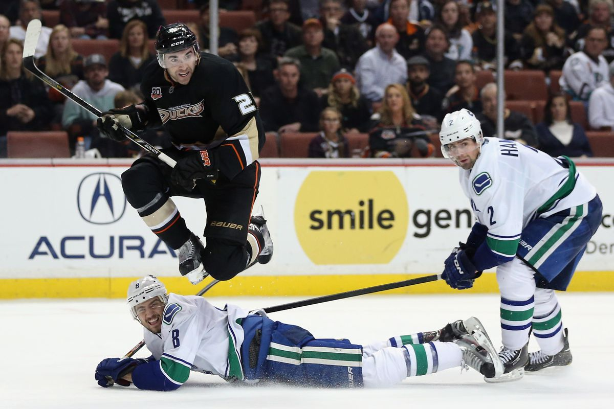 One of the keys is getting the early jump on the 'Nucks this time around.