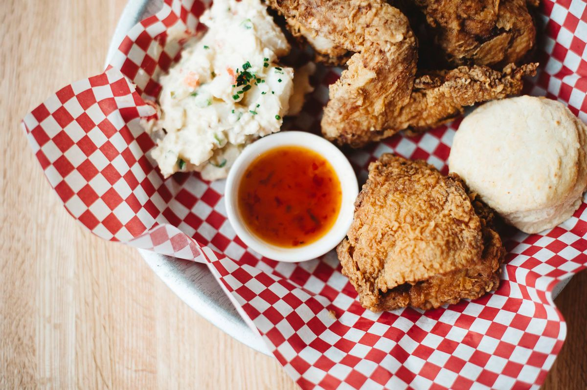 Fried chicken at Highland Fried
