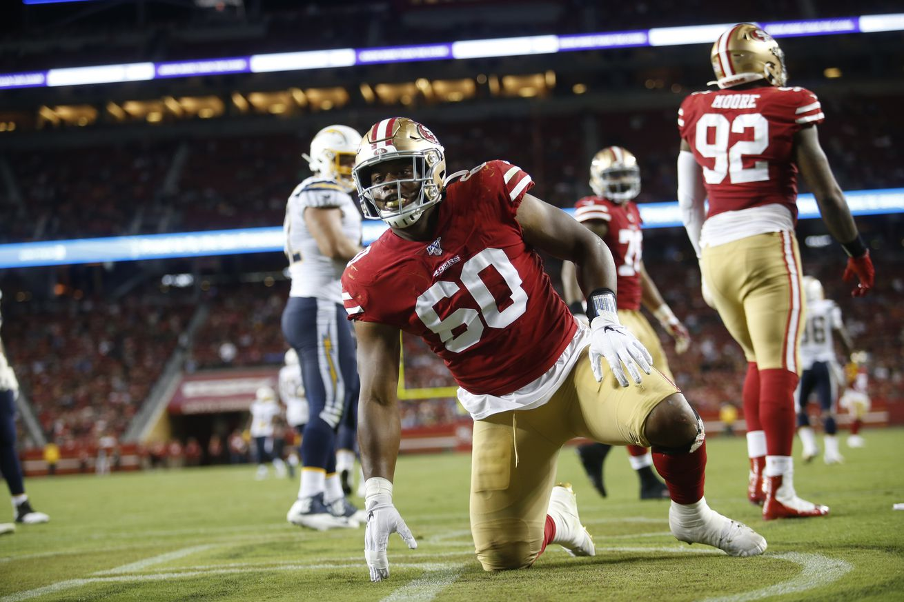 Who has the best shot at a promotion from the 49ers practice squad?