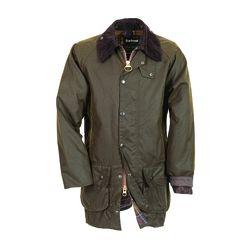"""Men's <a href=""""http://www.barbour.com/us/mens-clothing/jackets-coats/wax/classic-mens/classic-beaufort-jacket"""">Classic Beaufort Jacket</a> in Olive ($399)."""