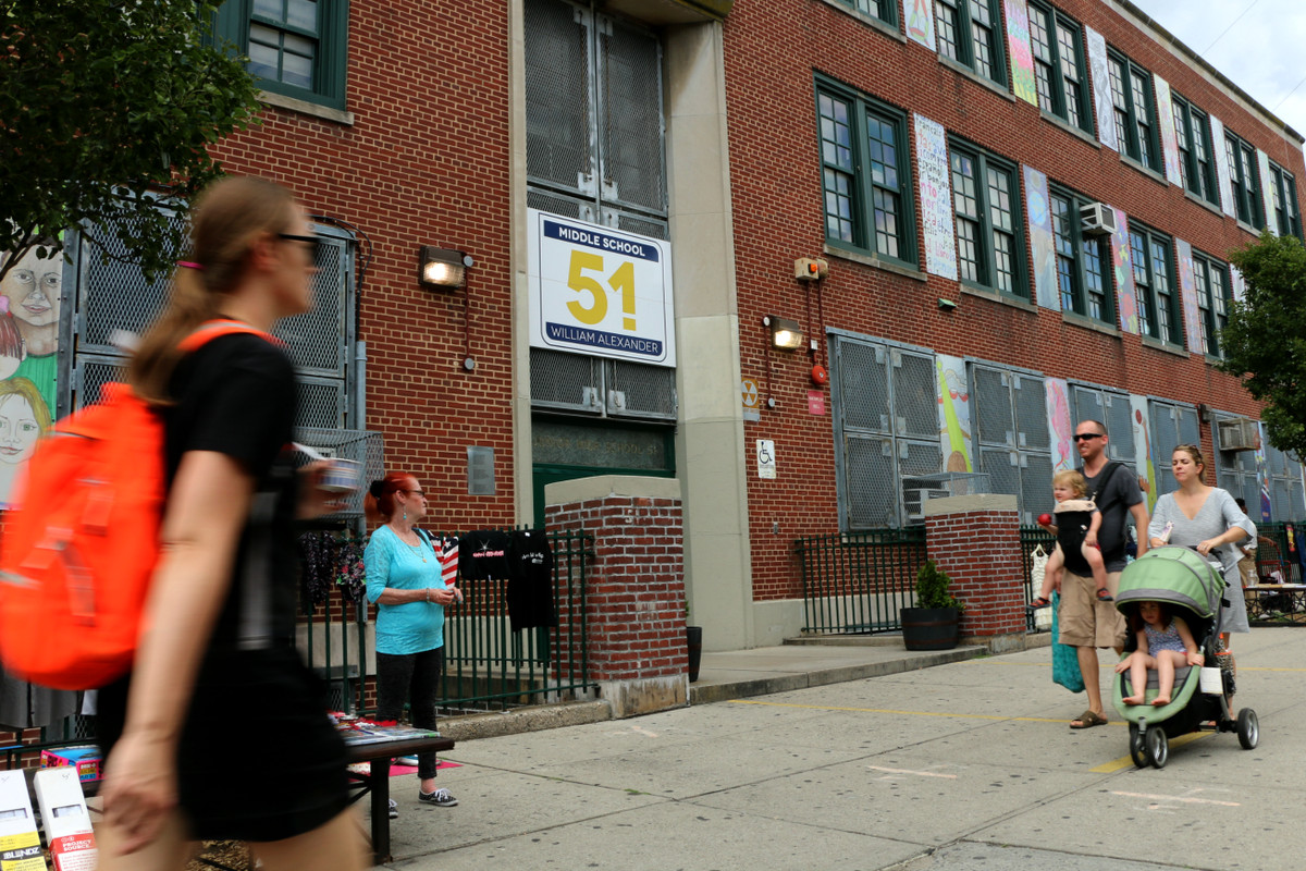 M.S. 51 in Park Slope is one of the most coveted schools in District 15, and it stands to potentially change its student body dramatically with a new integration plan in place.