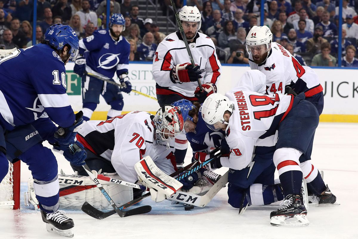 Washington Capitals outplay Tampa Bay Lightning once again en route to 6-2  win  lead series 2-0 e51301efb1c