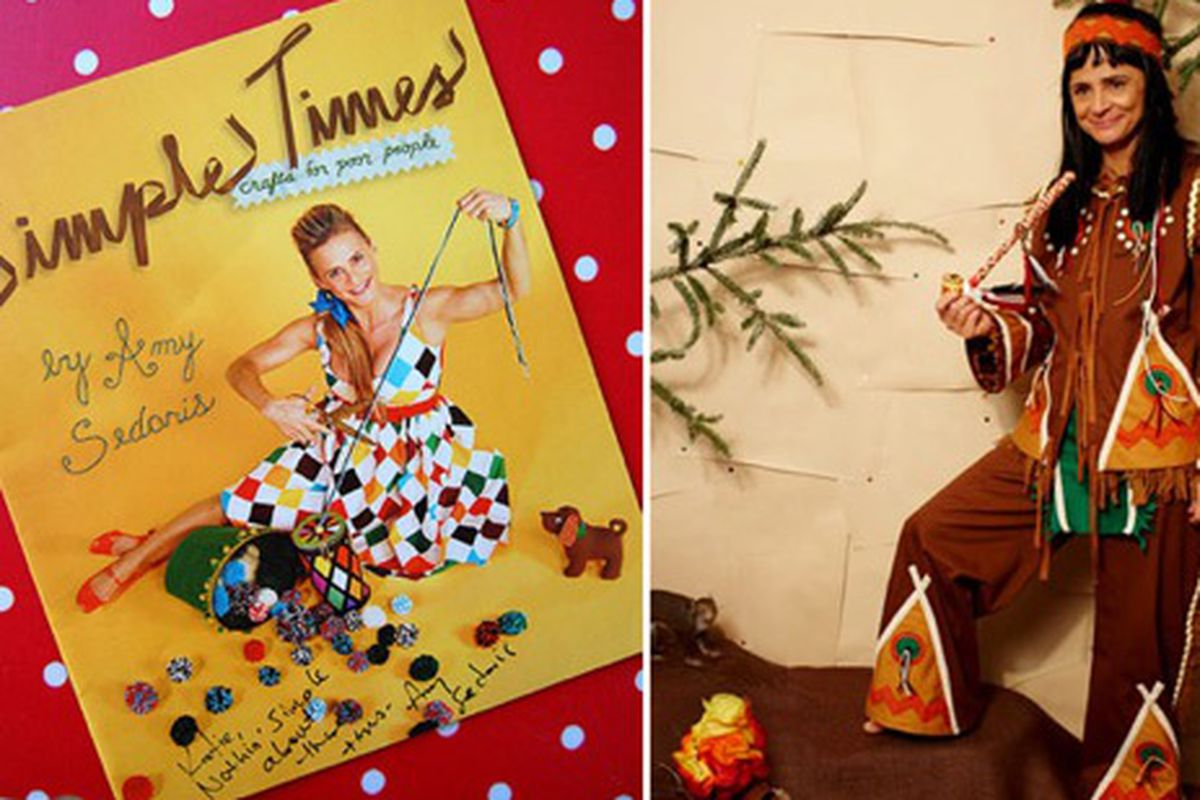 """Amy Sedaris's guide to holiday gift giving, image via <a href=""""http://www.coolhunting.com/culture/amy-sedaris-wan.php"""">Cool Hunting</a>"""