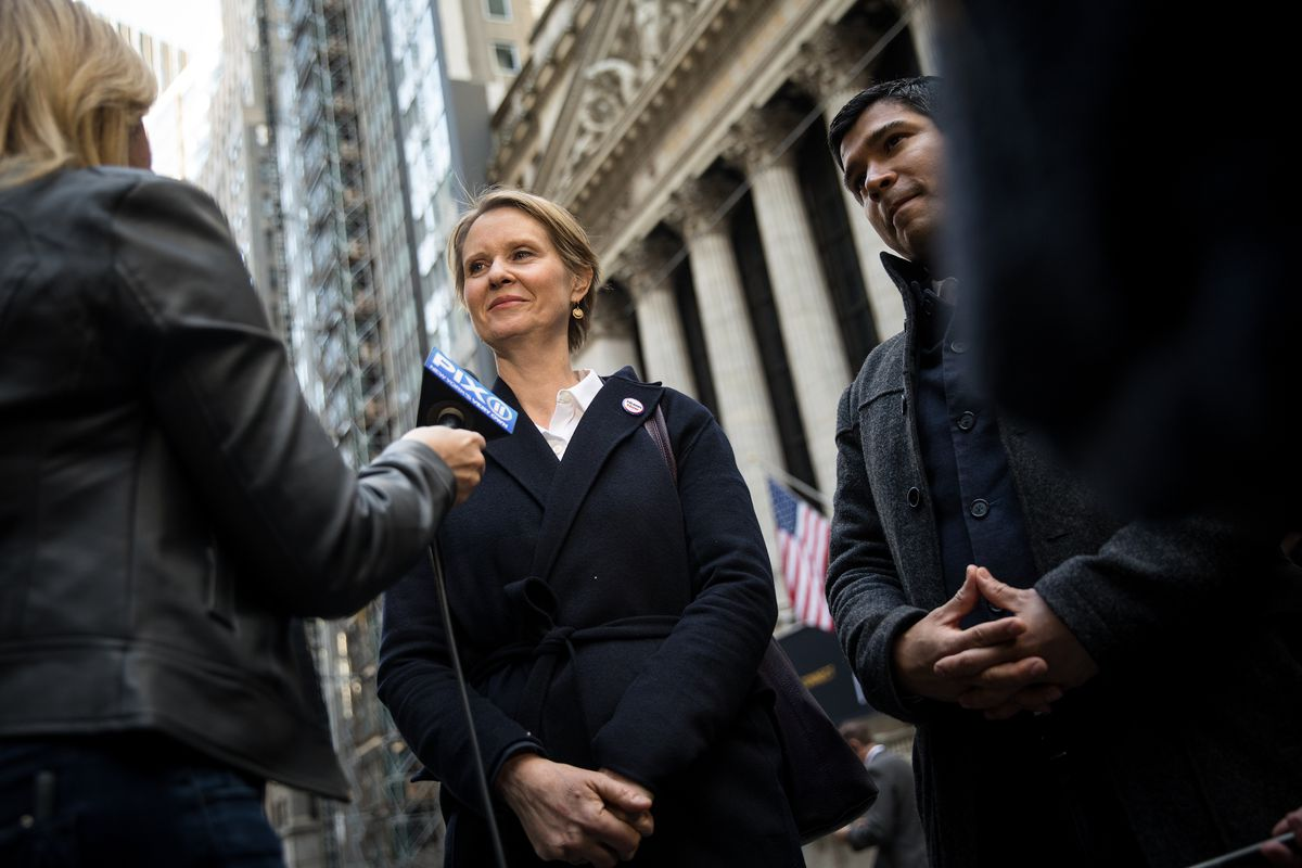 May Day Activists March On Wall Street