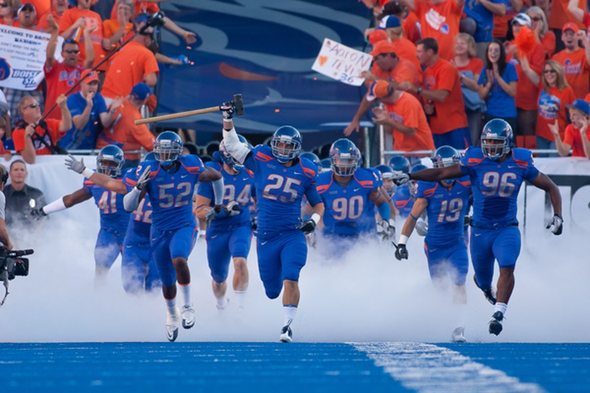 Adding Boise State to the conference is a game-changer (Photo by Otto Kitsinger III/Getty Images)