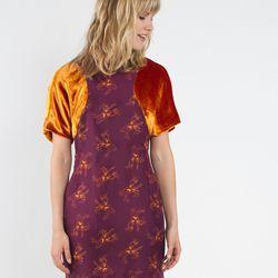 Circular sleeve dress, $477 (was $953)