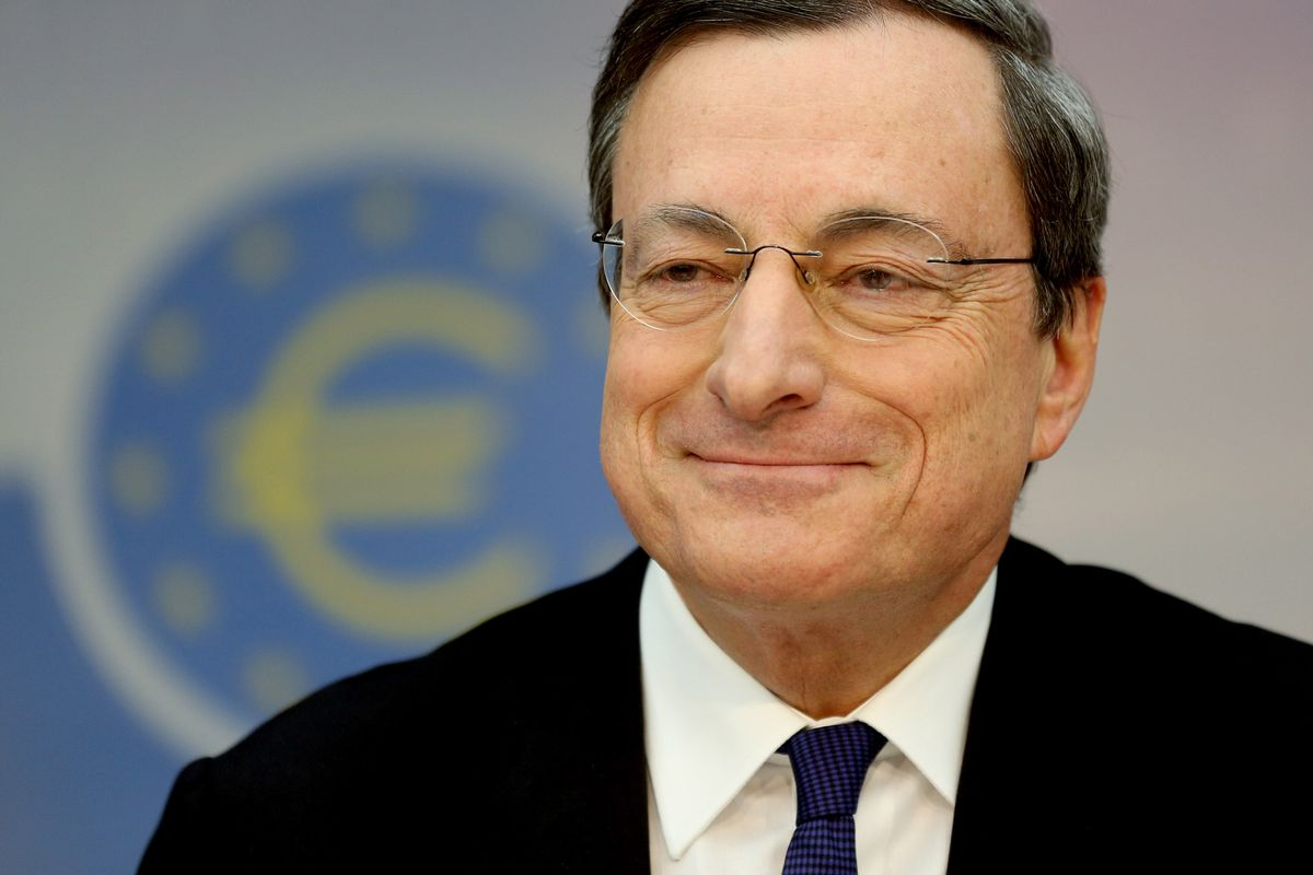 ECB head Mario Draghi will smile even wider if this plan works.