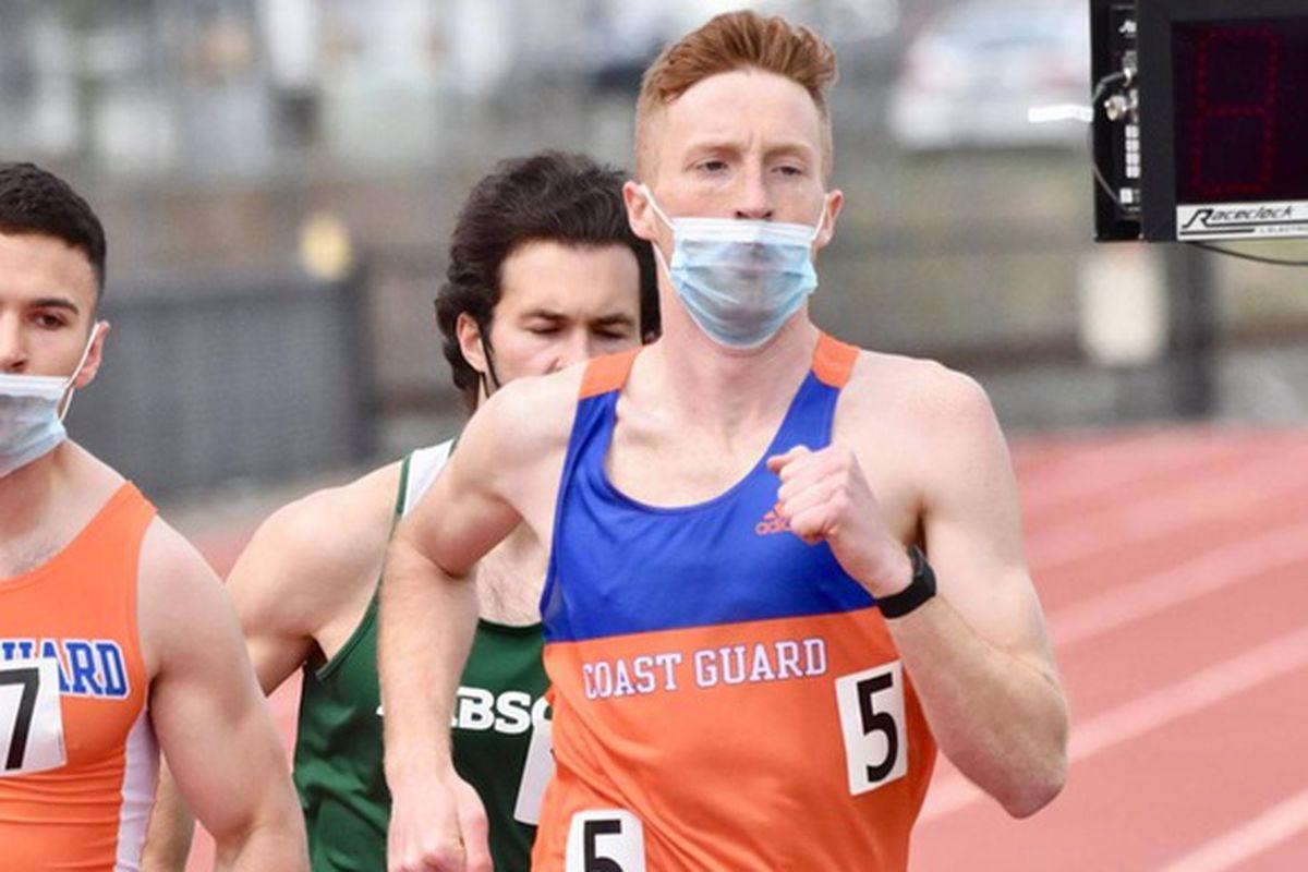 Josiah Davis running