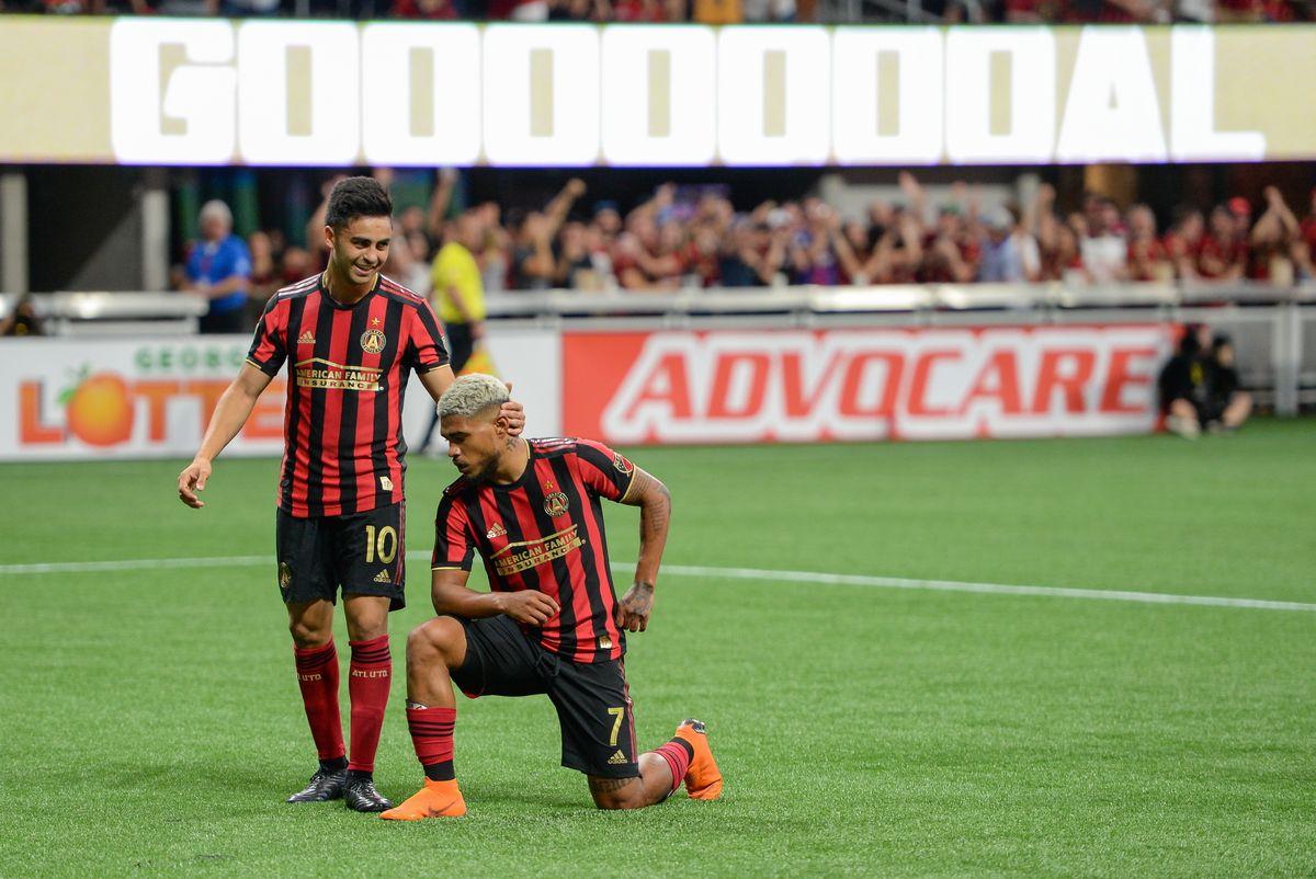 SOCCER: JUN 01 MLS - Chicago Fire at Atlanta United FC