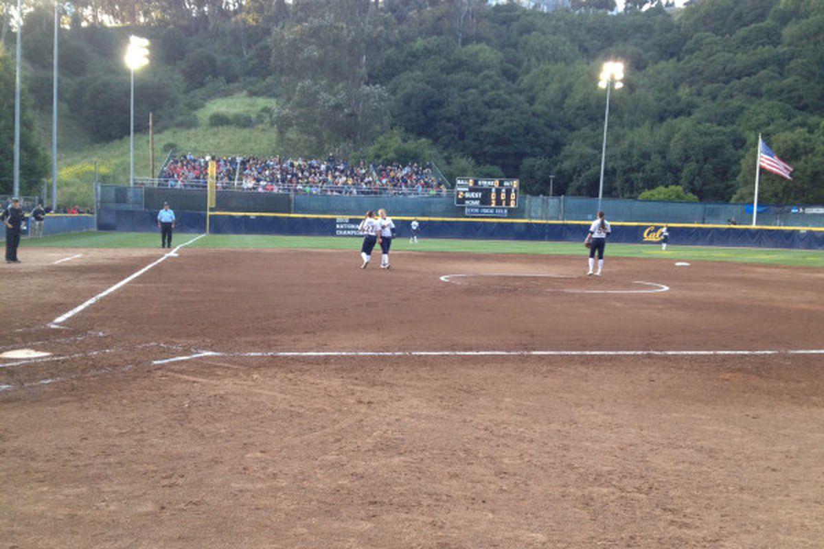 Cal Softball In Primetime