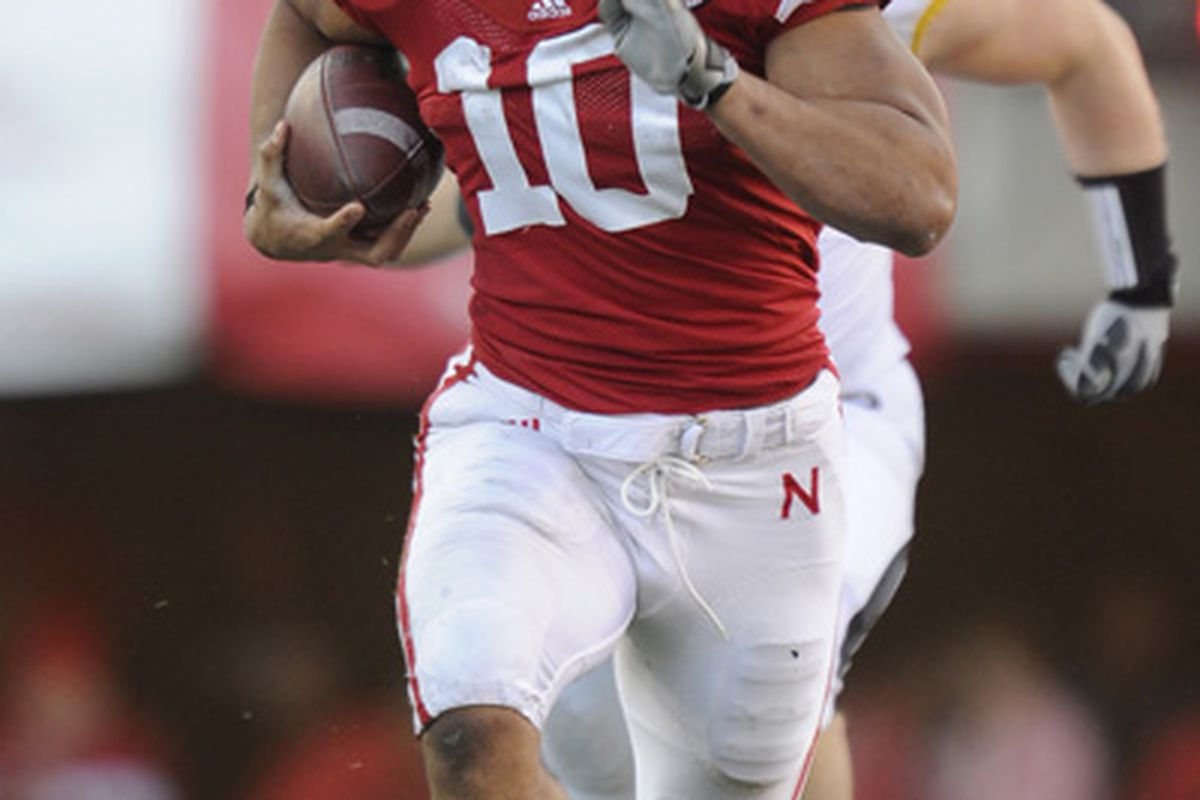Roy Helu - that guy can't catch him!