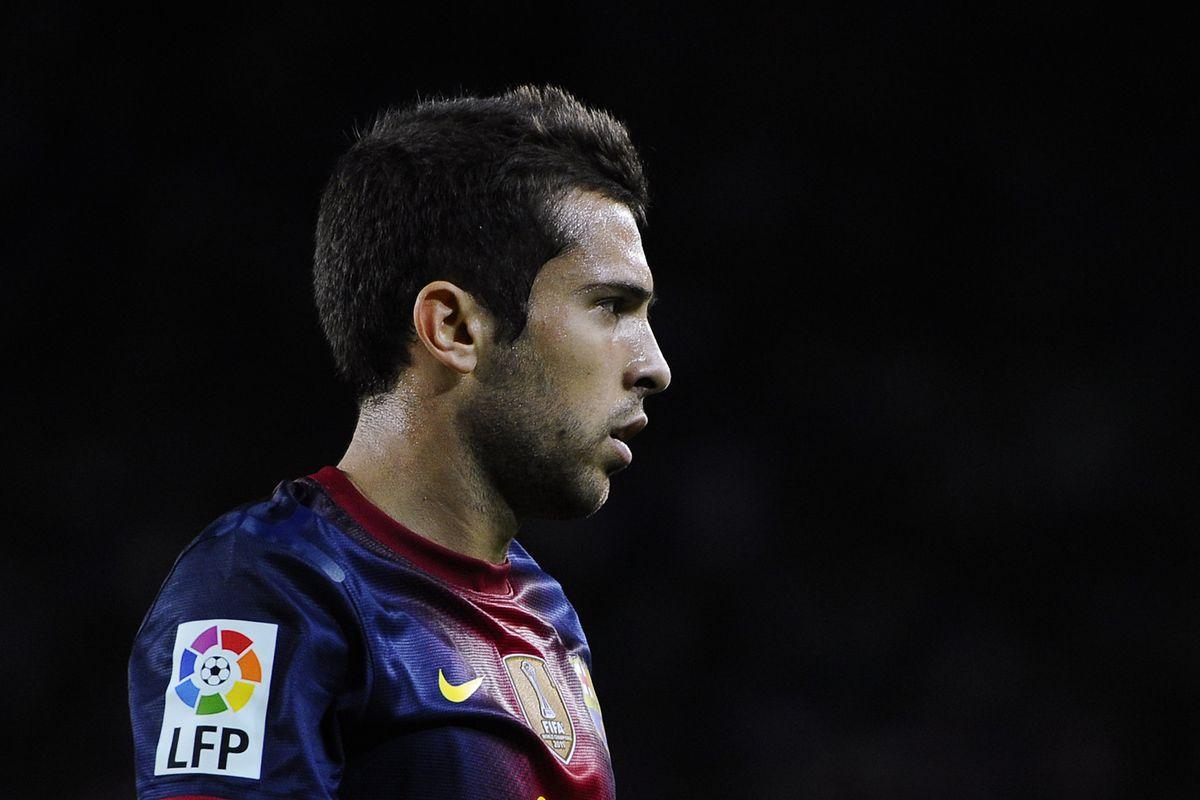 Jordi Alba has appeared in all Barça games this season