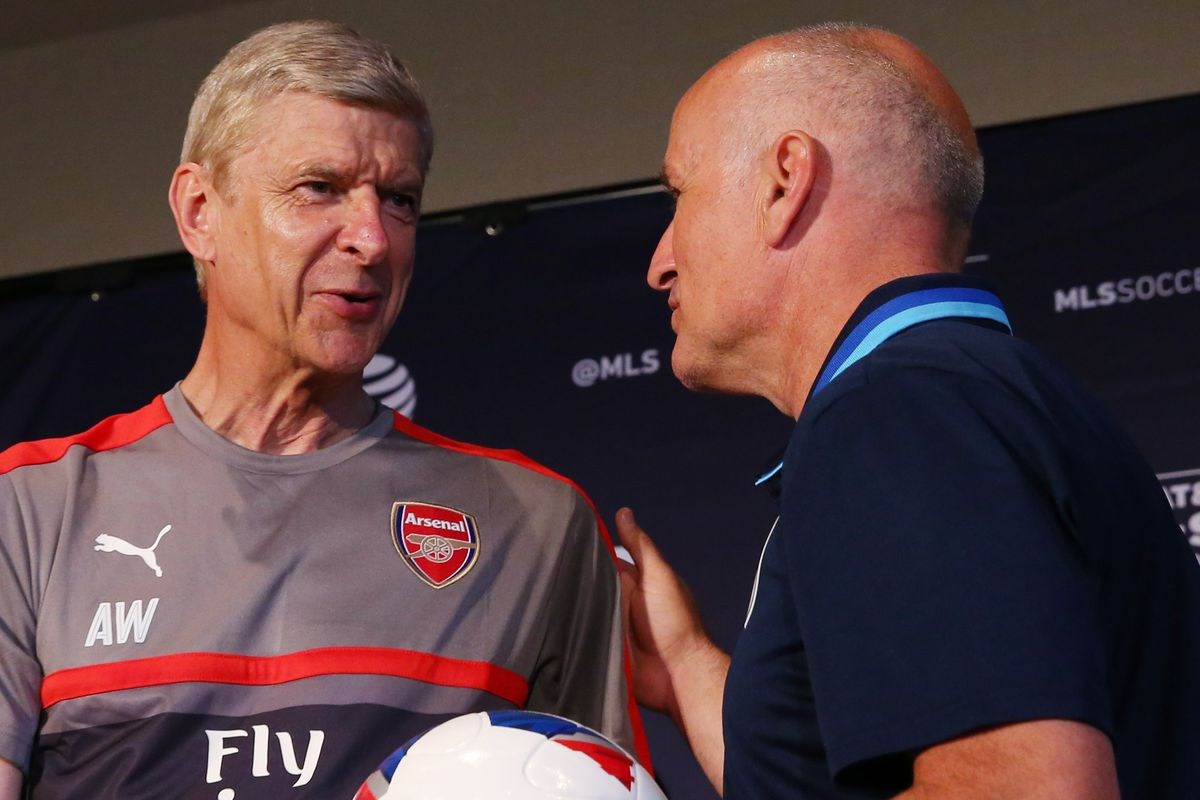 Arsene Wenger and Dominic Kinnear will lead out their teams in the 2016 MLS All-Star Game