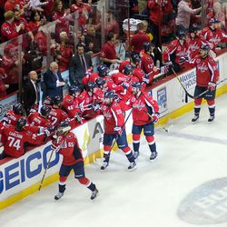 Fist Bumps For Alzner Goal