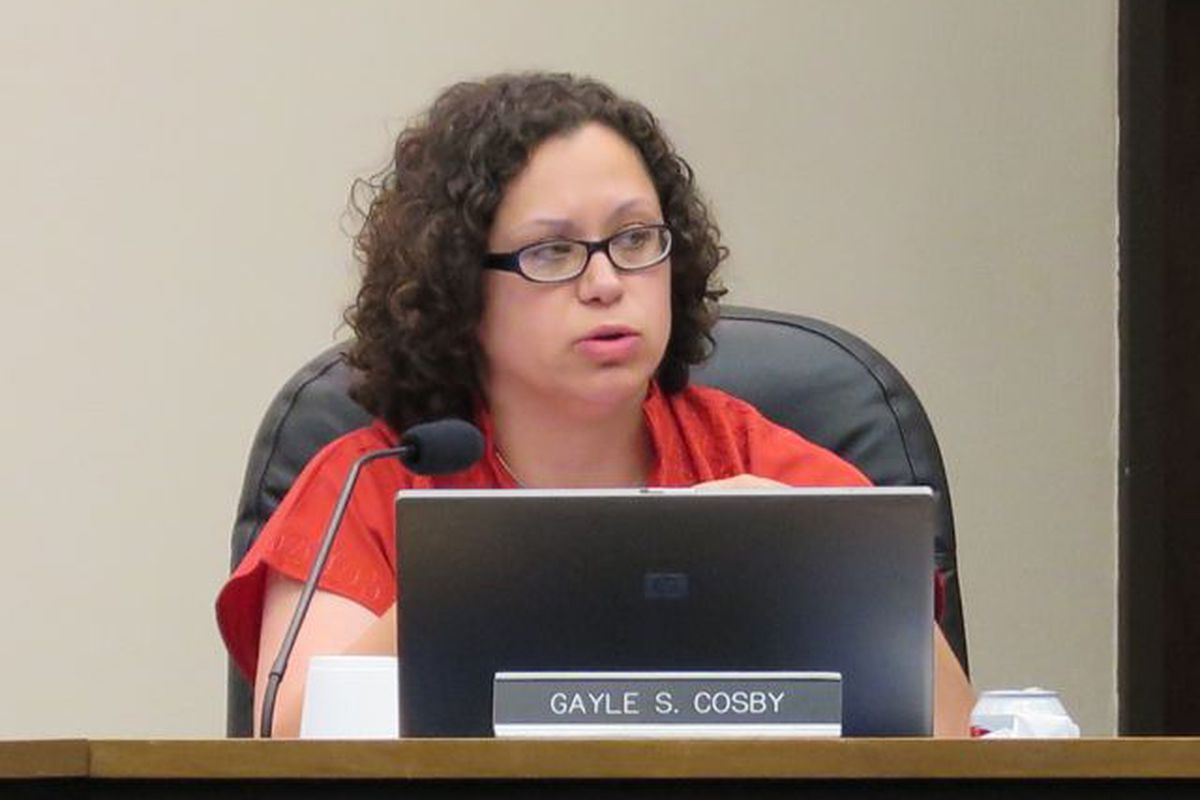 IPS board member Gayle Cosby questioned whether Superintendent Lewis Ferebee's principal selection process included enough community input. (Scott Elliott)